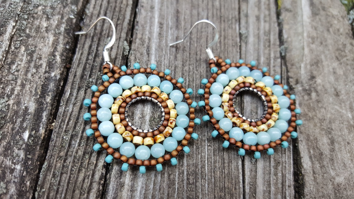 earrings brick purl of images hello tutorial kitty piece n htm stitch